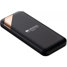 УМБ Power Bank Canyon 5000mAh 1USB Type-C 2.1A Black (CNE-CPBP5B)