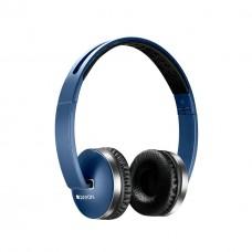 Наушники гарнитура накладные Bluetooth Canyon CNS-CBTHS2BL Blue