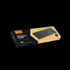 Комплект клавиатура + мышь Wireless Canyon CNS-HSETW4-RU USB Black