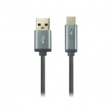 Кабель USB-Type-C Canyon 1m Dark Grey (CNS-USBC6DG)