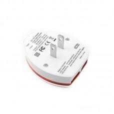 Адаптер сетевой Extradigital 2USB 1A White (CUA1528)