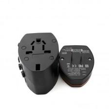Адаптер сетевой Extradigital 2USB 1A Black (CUA1532)