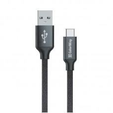 Кабель USB-Type-C ColorWay 1m Black