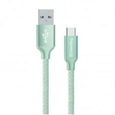 Кабель USB-Type-C ColorWay 1m Mint