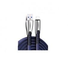Кабель ColorWay USB-Lightning 2.4А 1m Blue (CW-CBUL010-BL)
