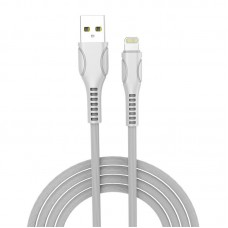 Кабель USB-Lightning ColorWay line-drawing 2.4А 1m White (CW-CBUL027-WH)