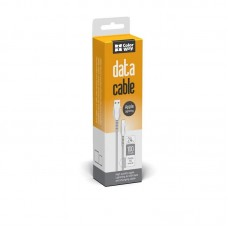 Кабель USB-Lightning ColorWay line-drawing 2.4А 1m White (CW-CBUL027-WH)