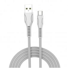 Кабель USB-MicroUSB ColorWay line-drawing 2.4А 1m White (CW-CBUM028-WH)