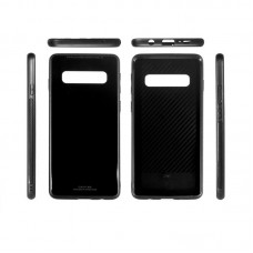 Чехол накладка TPU ColorWay Glass Case для Samsung S10e G970 Black (CW-CGCSGG970-BK)