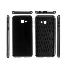 Чехол накладка TPU ColorWay Glass Case для Samsung J4 Plus 2018 J415 Black (CW-CGCSGJ415F-BK)
