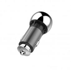 Адаптер автомобильный ColorWay Power Delivery 1USB 2.4A 36W Type-C QC3.0 Black (CW-CHA012PD-BK)