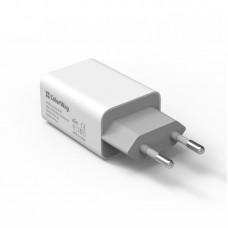 Адаптер сетевой ColorWay AutoID 1USB 2A White (CW-CHS012-WT)