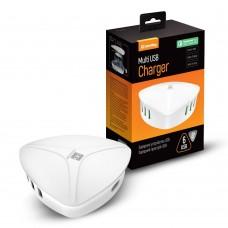Зарядное устройство сетевое ColorWay QC3 6USB 8A White CW-CHS06QW