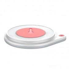 БЗУ ColorWay Qi Fast Charger 10W LED Bedside Lamp White (CW-CHW20Q-WT)