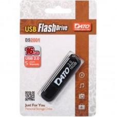 Флешка USB 2.0 16GB Dato DB8001 Black (DB8001K-16G)
