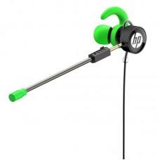 Наушники гарнитура вакуумные HP DHE-7004 Green