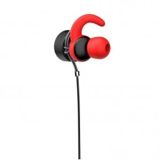 Наушники гарнитура вакуумные HP DHE-7004D Red