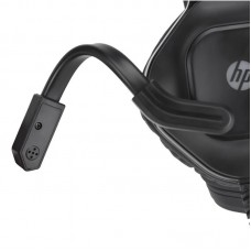 Наушники гарнитура накладные HP DHE-8002 Gaming Red LED Black