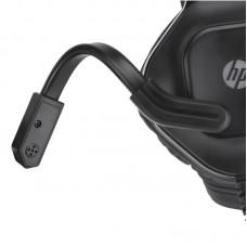 Наушники гарнитура накладные HP DHE-8002 Gaming Red LED Black
