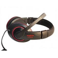 Наушники гарнитура накладные Somic Danyin DT-2208 Black/Red