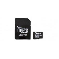 Карта памяти MicroSDHC 64GB UHS-I Dato + Adapter SD (DTTF064GUIC10)