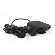 АЗУ EnerGenie 4USB 9.6A Black (EG-4U-CAR-01)