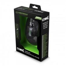 Мышь Esperanza EGM207G Cobra Black/Green USB