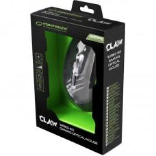 Мышь Esperanza MX209G Claw Black/Green USB