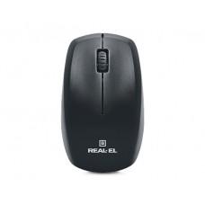 Комплект клавиатура + мышь Wireless REAL-EL Standard 555 Kit Black USB