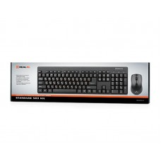 Комплект клавиатура + мышь REAL-EL Standard 503 Kit Black USB