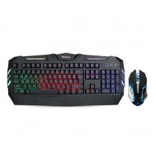 Комплект клавиатура + мышь REAL-EL Gaming 9500 Kit Backlit Black USB