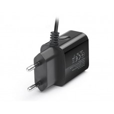 СЗУ REAL-EL CH-217 2USB 2.1A Black + cable USB-Lightning