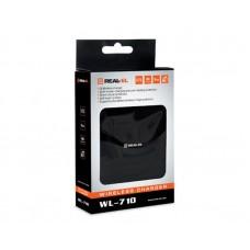 Беспроводное зарядное устройство REAL-EL WL-710 Wireless 1.5A 5W Black