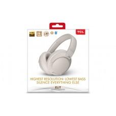 Наушники гарнитура накладные Bluetooth TCL ELIT400NC Cement Grey (ELIT400NCWT-EU)