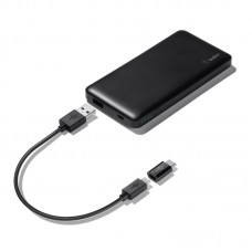 УМБ Belkin Pocket Power 5000mAh 2USB 2.4A Black (F7U019BTBLKBE)
