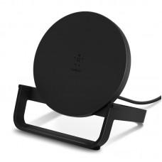Беспроводное зарядное устройство Belkin Qi Wireless Charging Fast Stand 10W Black (F7U083VFBLK)