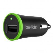 Зарядное устройство автомобильное Belkin 1USB 2.4A Black (F8M887BT04-BLK) + cable USB-MicroUSB