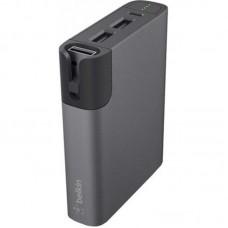 УМБ Belkin Power RockStar 6600mAh 2USB 1.7A Black (F8M992BTGRY)