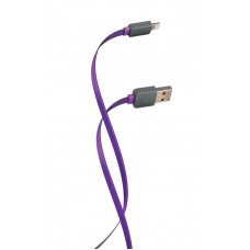 Кабель USB-Lightning Florence Color 2A 1m Purple