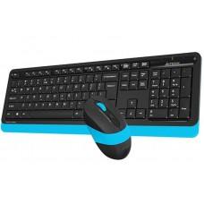 Комплект клавиатура + мышь Wireless A4Tech FG1010 Black/Blue USB