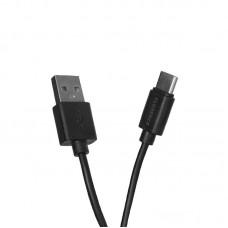 Кабель USB-Type-C Florence 2A 1m Black (FL-2110-KT)