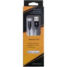 Кабель USB-Lightning Grand-X MFI 1.2m Grey (FL01NG)