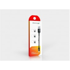 Кабель USB-Lightning Grand-X 0.2m Black (FM-20L)