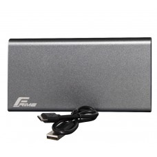 УМБ Power Bank Frime 10000mAh QC3.0 2USB 2.1A Type-C Dark Grey (FPB1022QCL.DG)