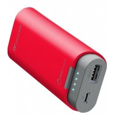 УМБ Power Bank Cellularline FreePower 5200mAh 1USB 2A Red (FREEP5200R)