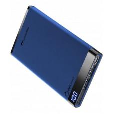 УМБ Power Bank Cellularline FreePower Manta 6000mAh 2USB 2.1A Blue (FREEPMANTA6000B)