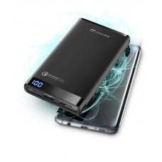 УМБ Cellularline FreePower Manta Pro QC3.0 8000mAh 2USB 2A Black (FREEPMANTA8QCCK)