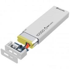 УМБ Cellularline FreePower Slim 10000mAh 1USB 2.1A White (FREEPSLIM10000W)
