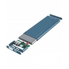 УМБ Cellularline FreePower Slim 3000mAh 1USB 2.1A Blue (FREEPSLIM3000B)