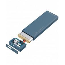 УМБ Cellularline FreePower Slim 5000mAh 1USB 2.1A Blue (FREEPSLIM5000B)